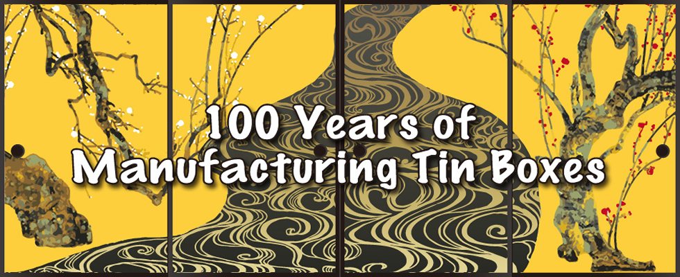 100 Years of Manufacturing Tin Boxes